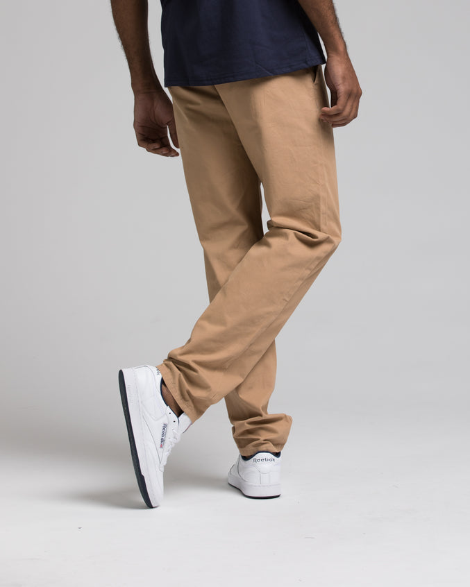 SKINNY CHINO PANTS - Color: KHAKI | Beige