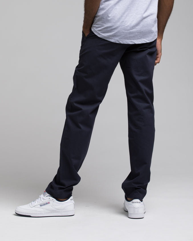 SKINNY CHINO PANTS - Color: NAVY | Blue