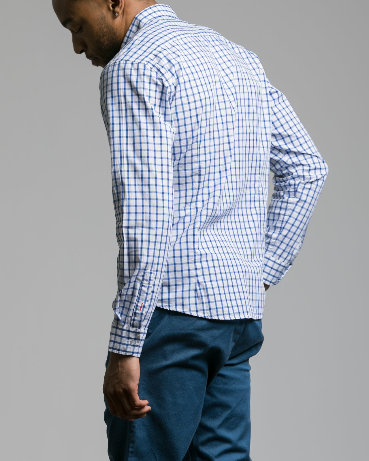 Long Sleeve Button Down Shirt - Color: White | White