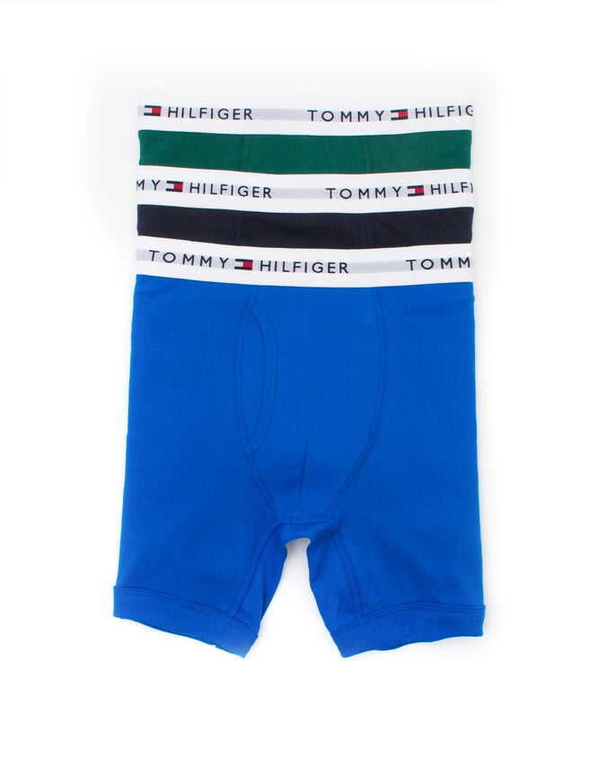 Cotton Classics 3 Pack Boxer Brief - Color: Vibrant Royal | Multi
