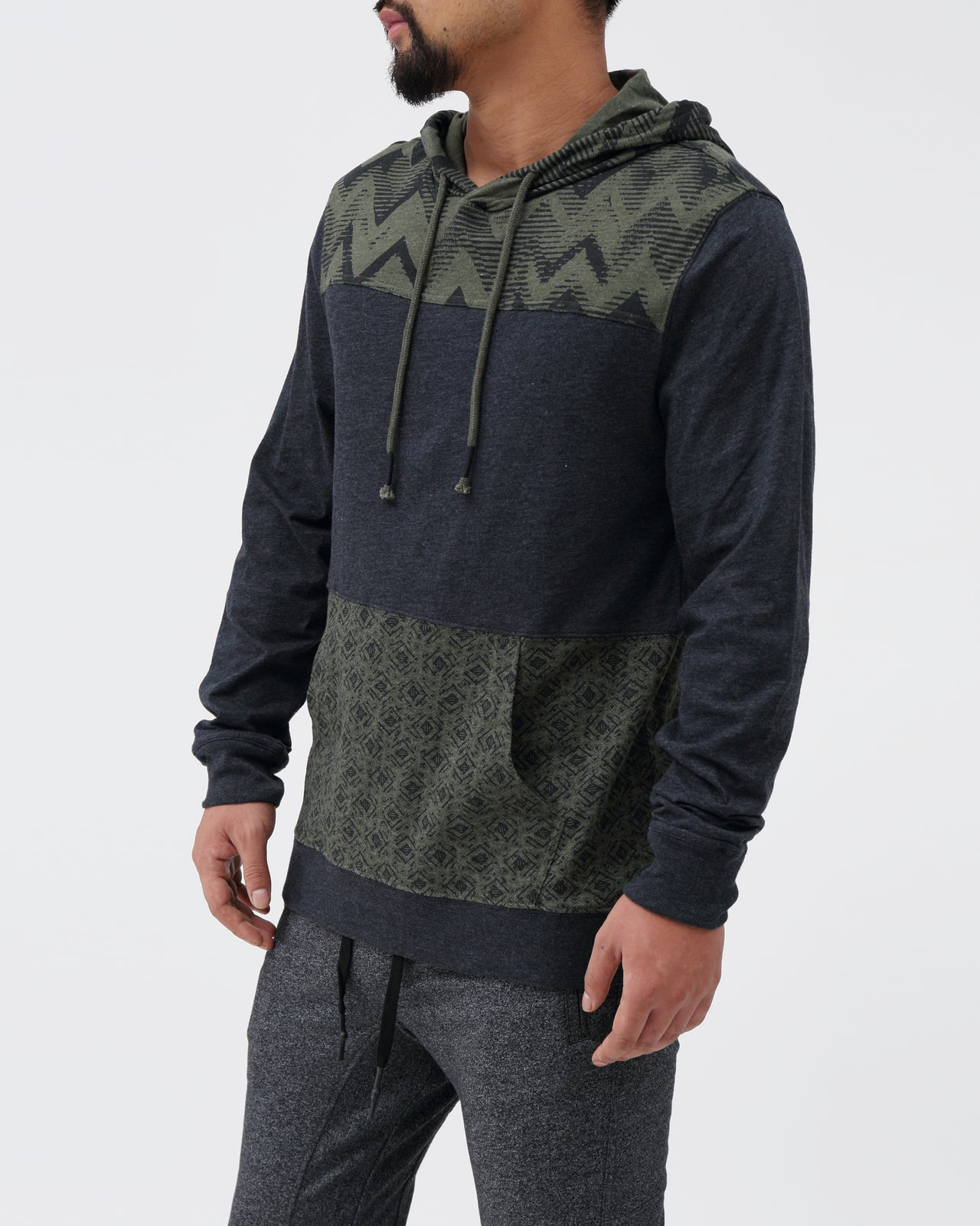 Geo Hoodie - Color: Dark Navy | Blue