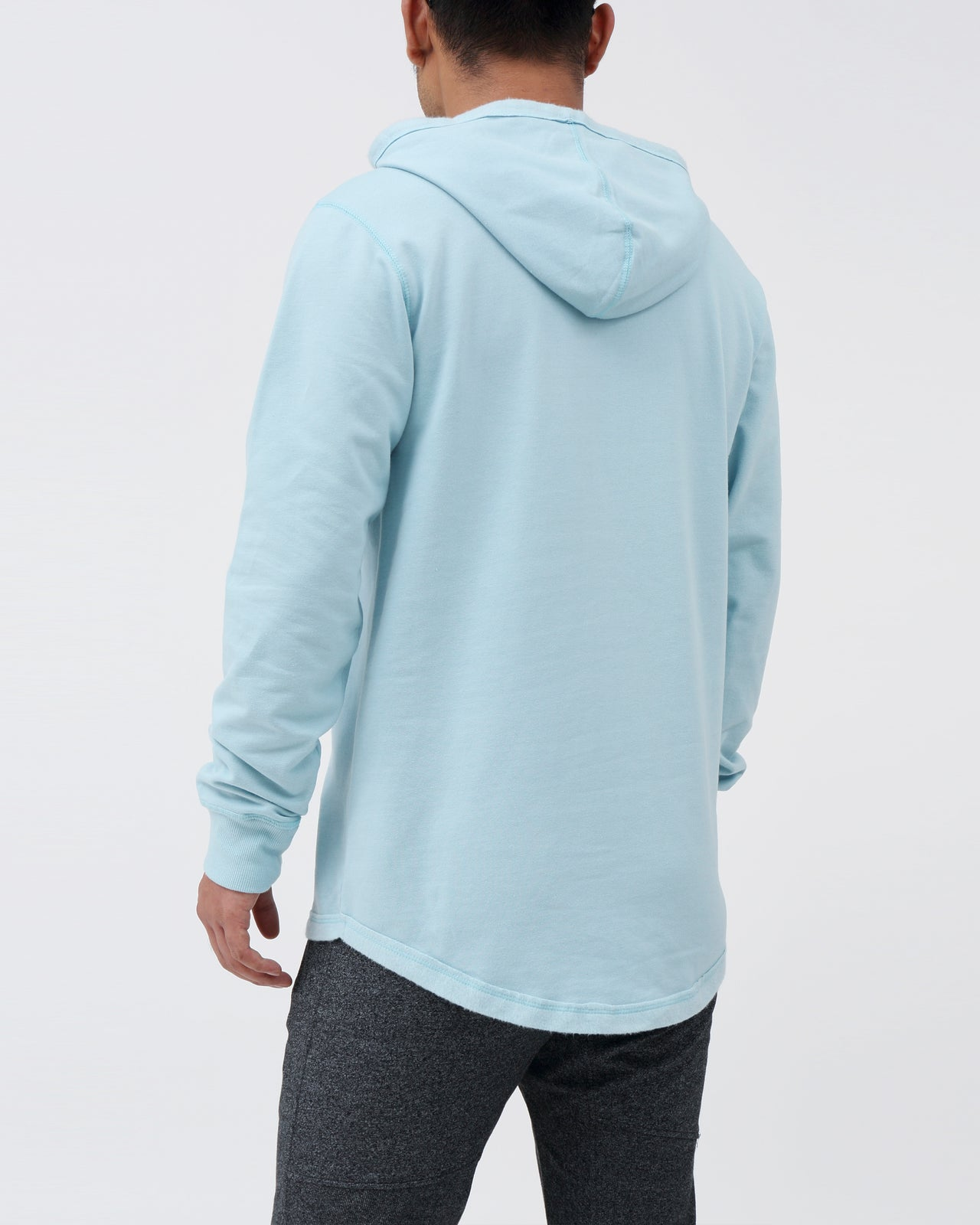 Patch Hoodie - Color: Blue Topaz | Blue