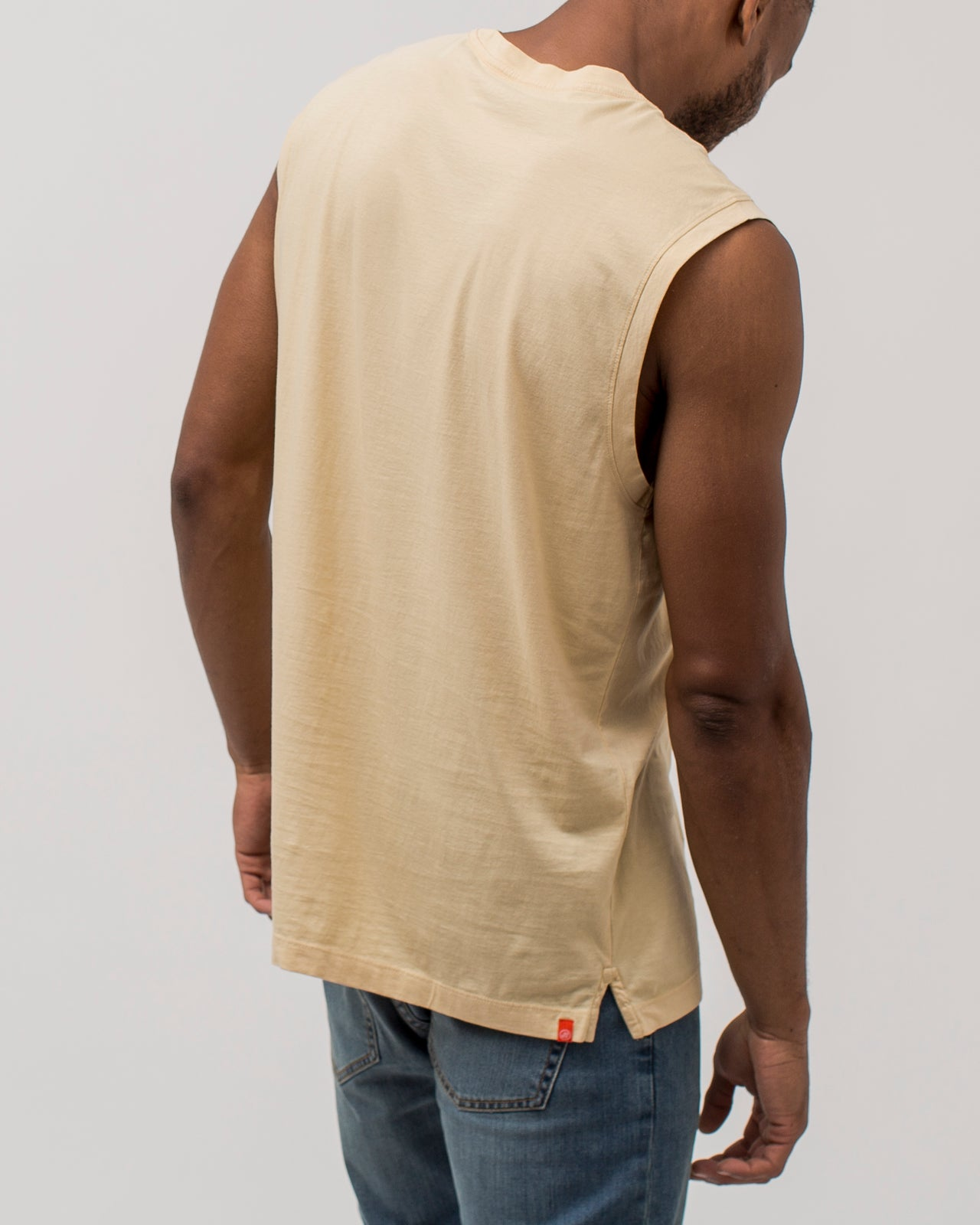 Long Tank - Color: Boulder | Beige