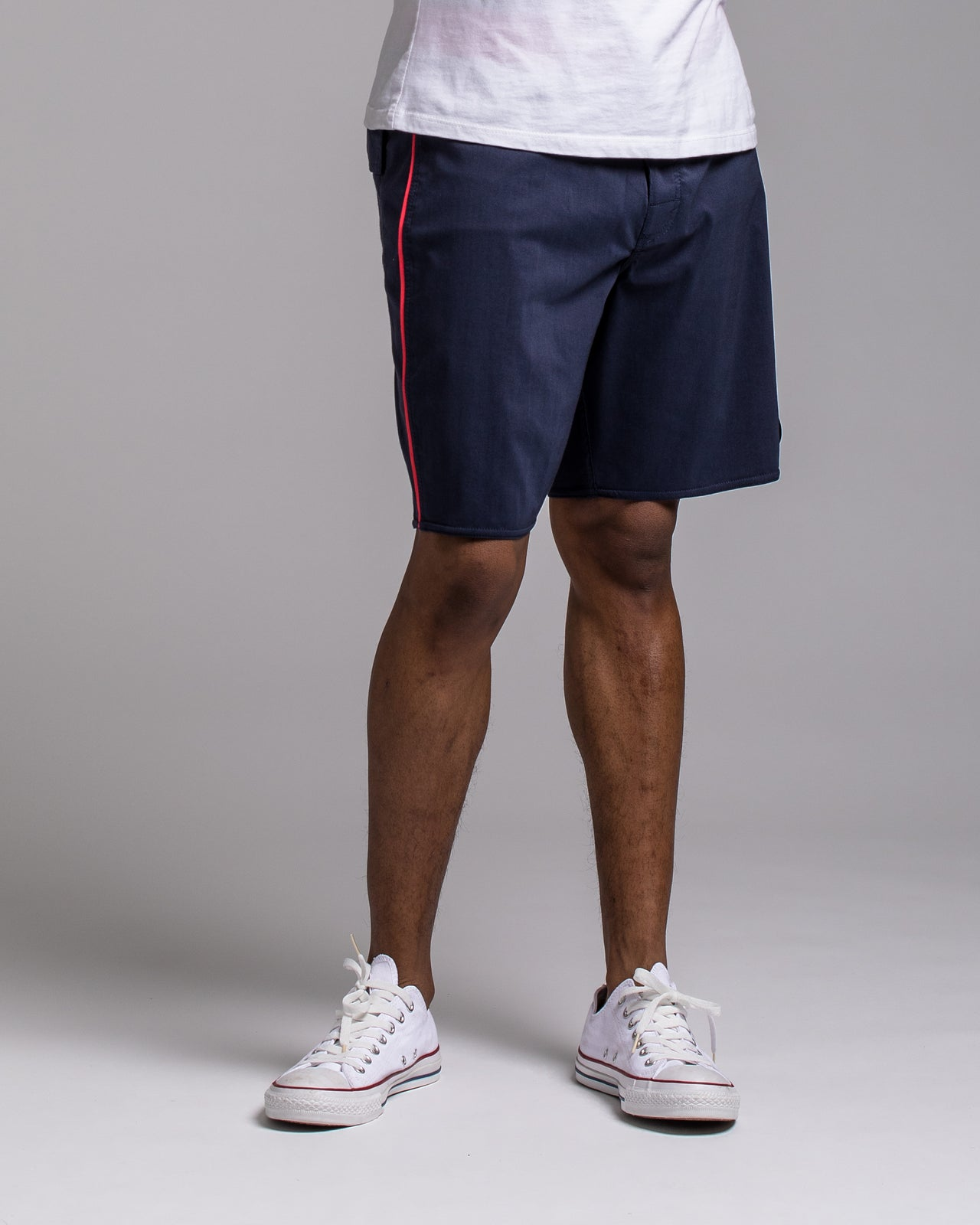 Smooth Like RVCA Trunk - Color: Washed Navy/Red | Blue