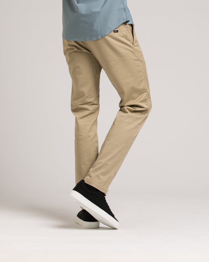 Week End Stretch Pant - Color: Khaki | Beige