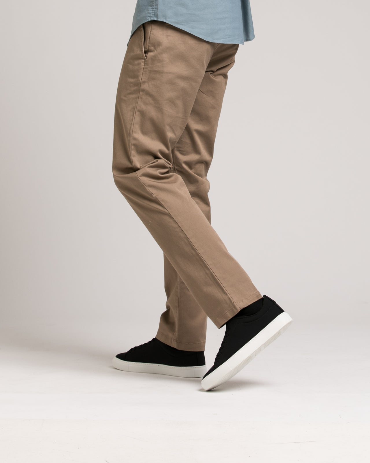 Week End Stretch Pant - Color: Dark Khaki | Beige