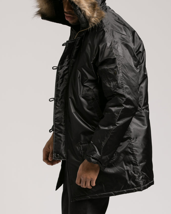 N 3B Snorkal Parka - Color: Black | Black