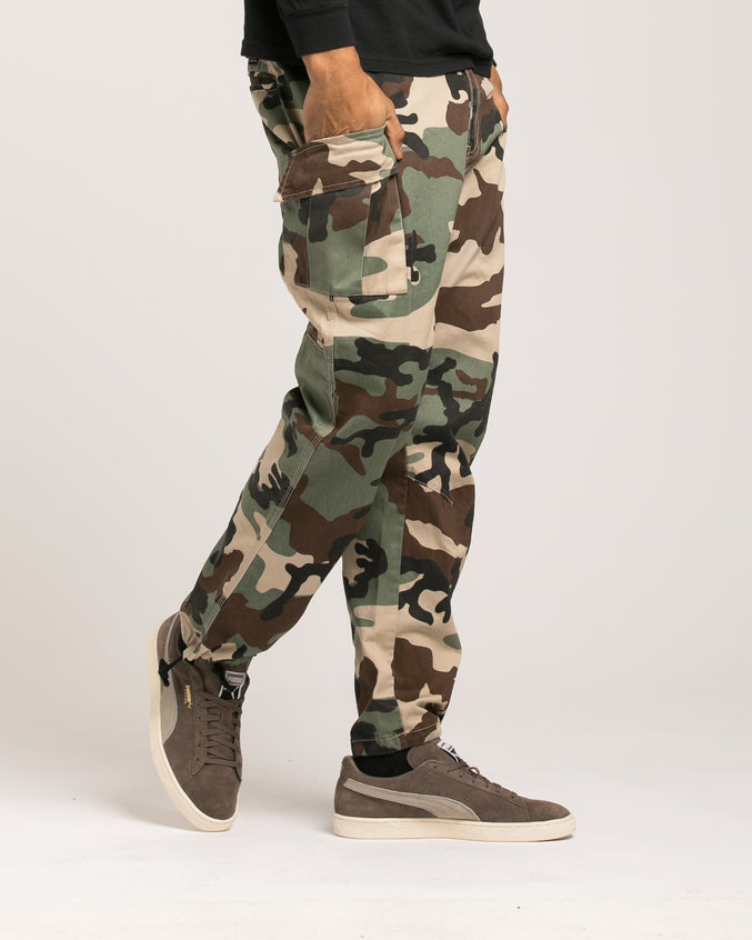 Alpha Charlie Cargo Pant - Color: New Woodland | Multi