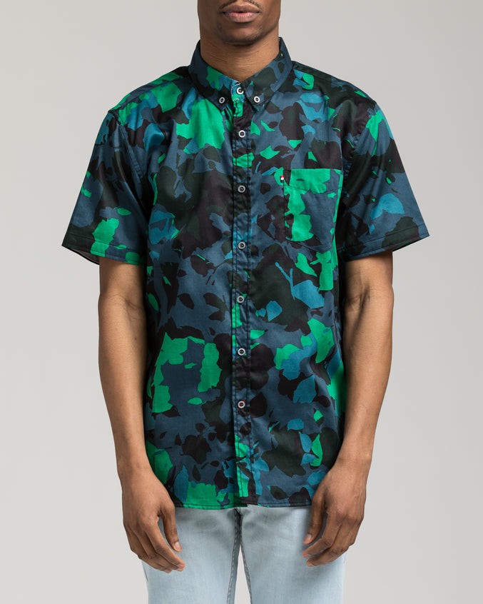 Short Sleeve Camo Shirt - Color: Multi | Multi