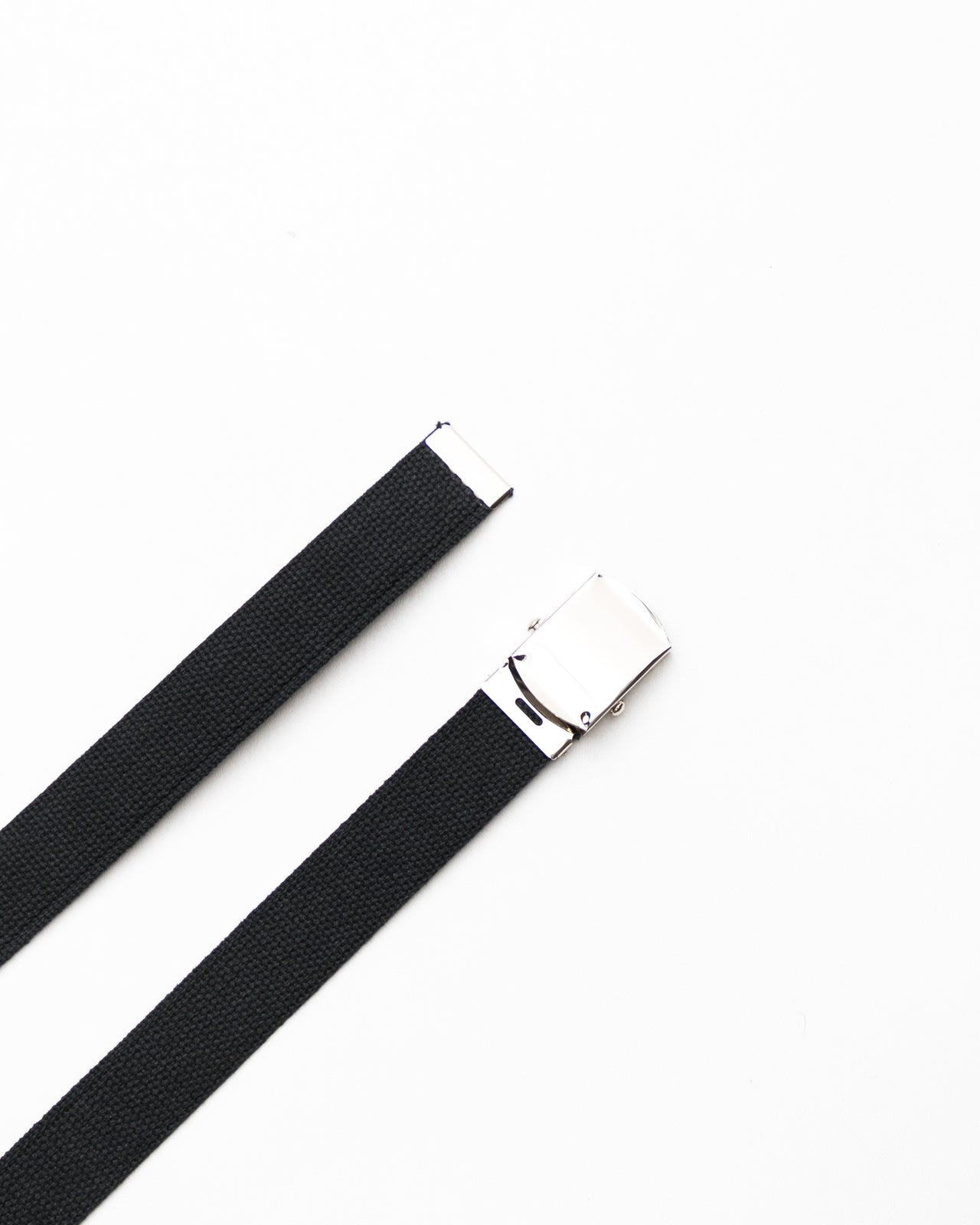 Web Belt- Color: Black/Chrome | Black