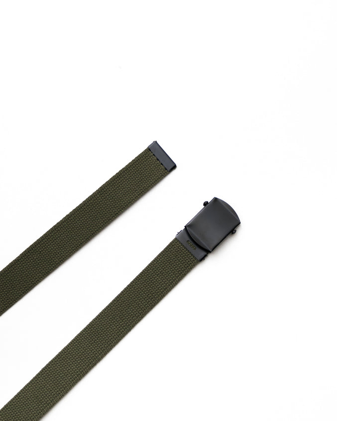 Web Belt- Color: Olive Drab/Black | Green