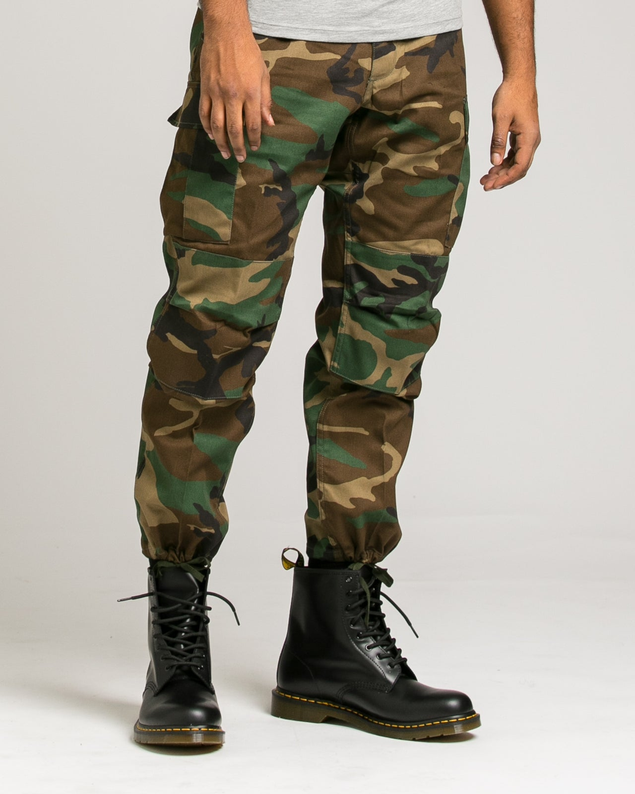 B.D.U. Pants - Color: Woodland Camo | Green