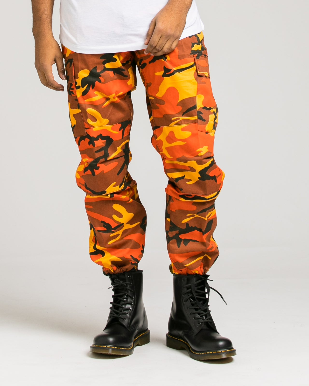B.D.U. Pants - Color: Savage Orange Camo | Orange