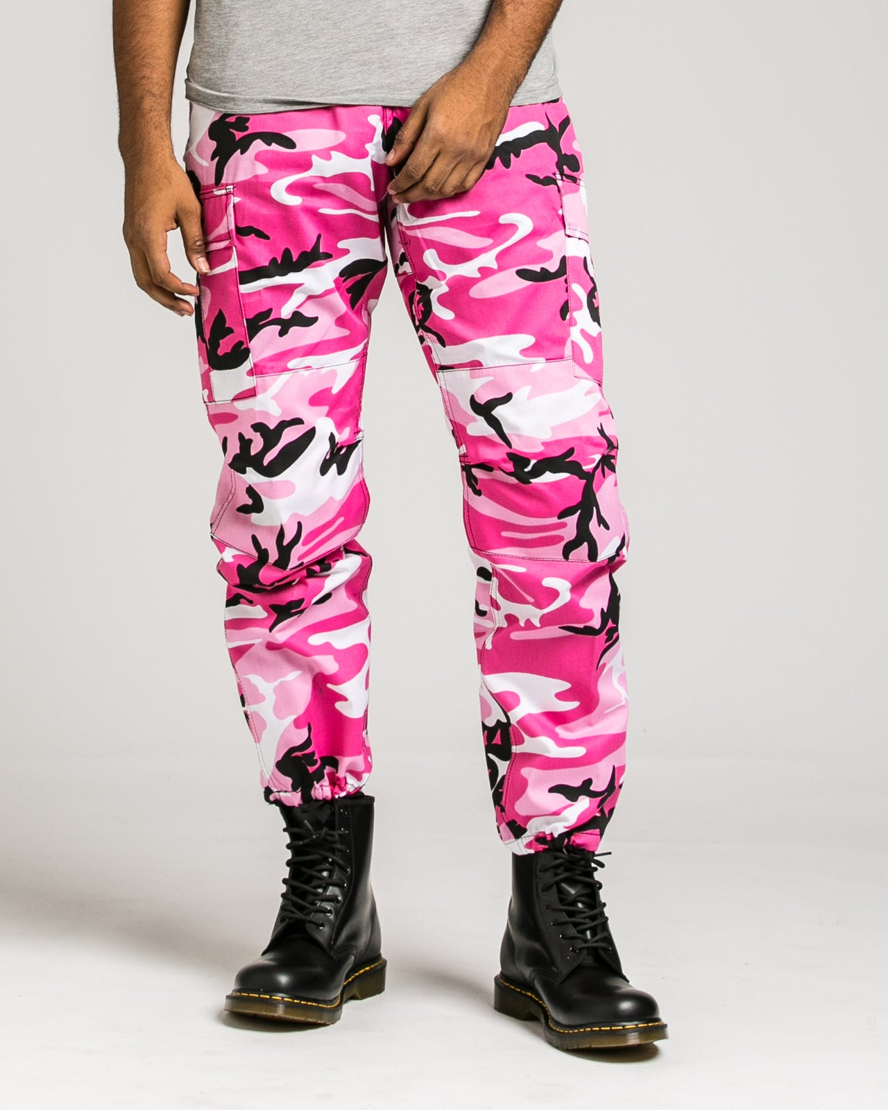 B.D.U. Pants - Color: Pink Camo | Pink