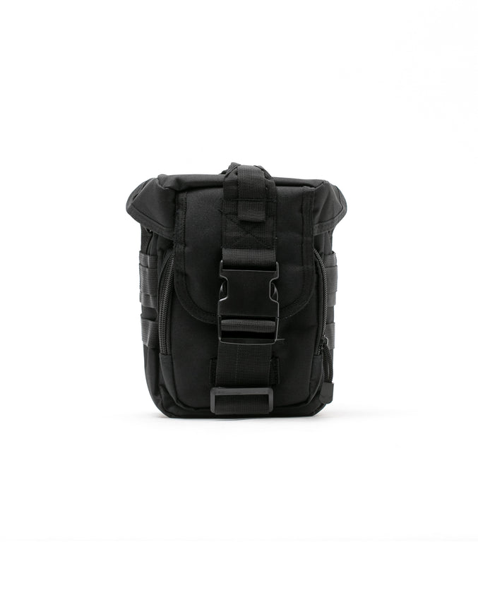 Tactical Shoulder Bag - Color: Black | Black