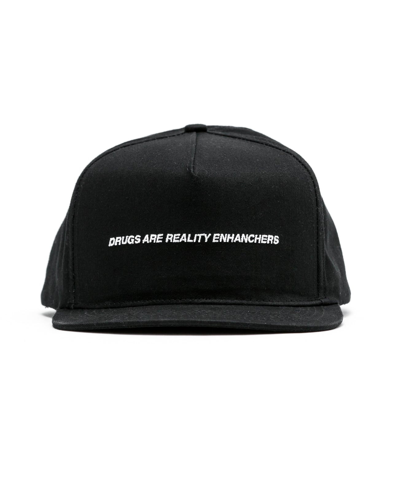 Drugs Enhance Reality Hat - Color: Black | Black