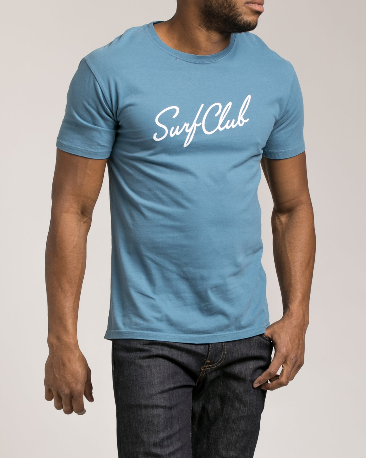 New Wave Tee - Color: Sea Blue | Blue