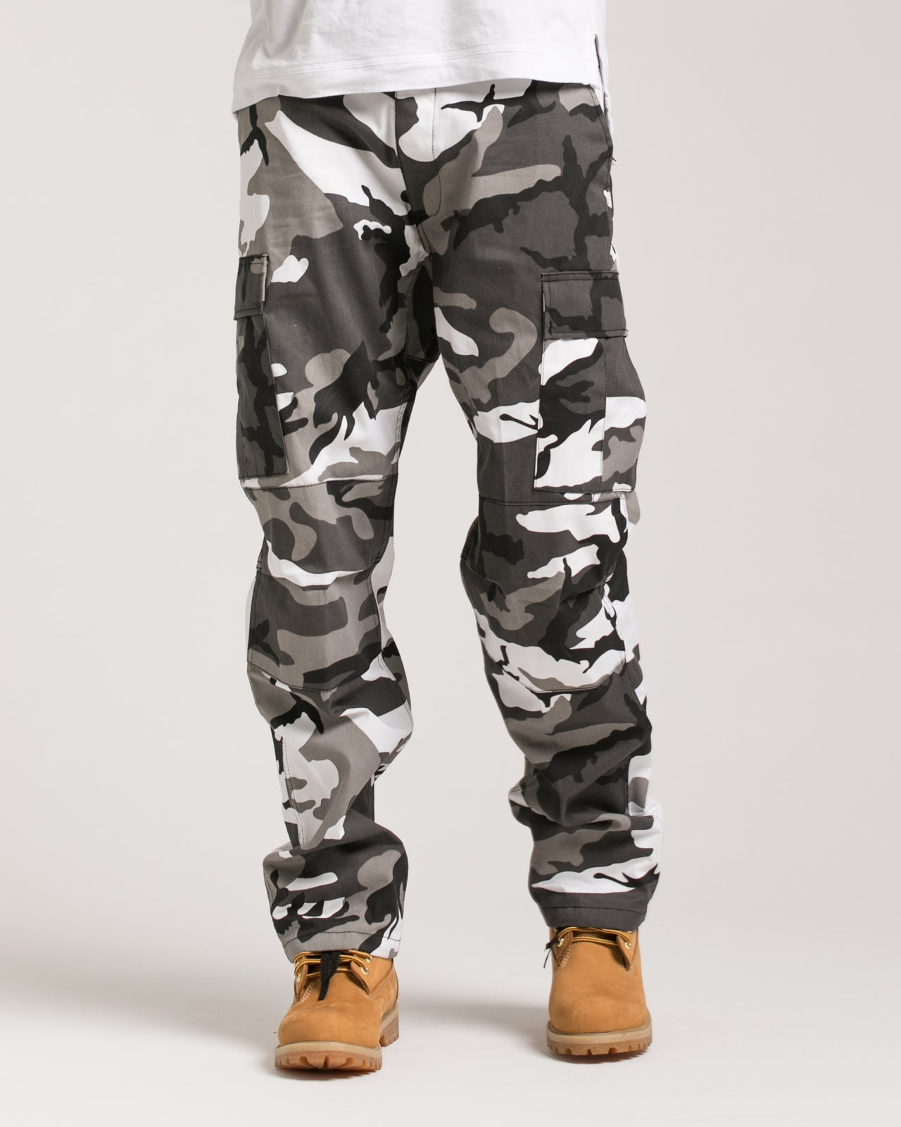 B.D.U. Pants - Color: City Camo | White