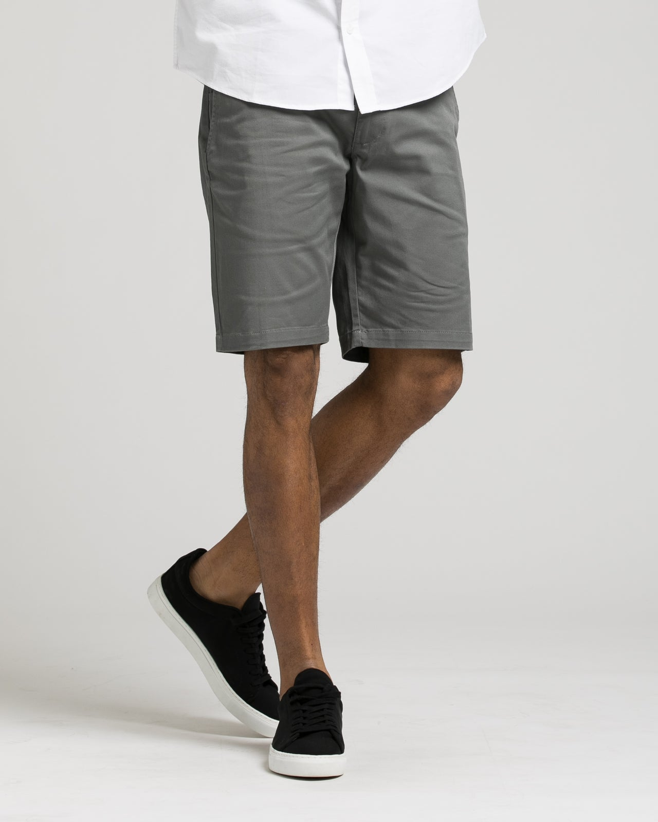 Weekend Stretch Short - Color: Smoke | Gray
