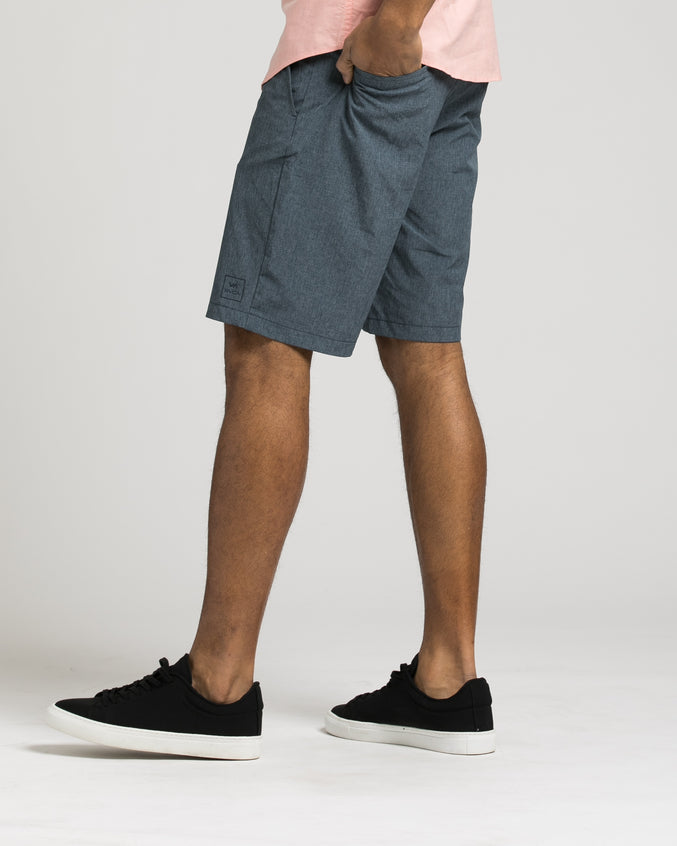 All The Way Hybrid Short - Color: Classic Indigo | Blue
