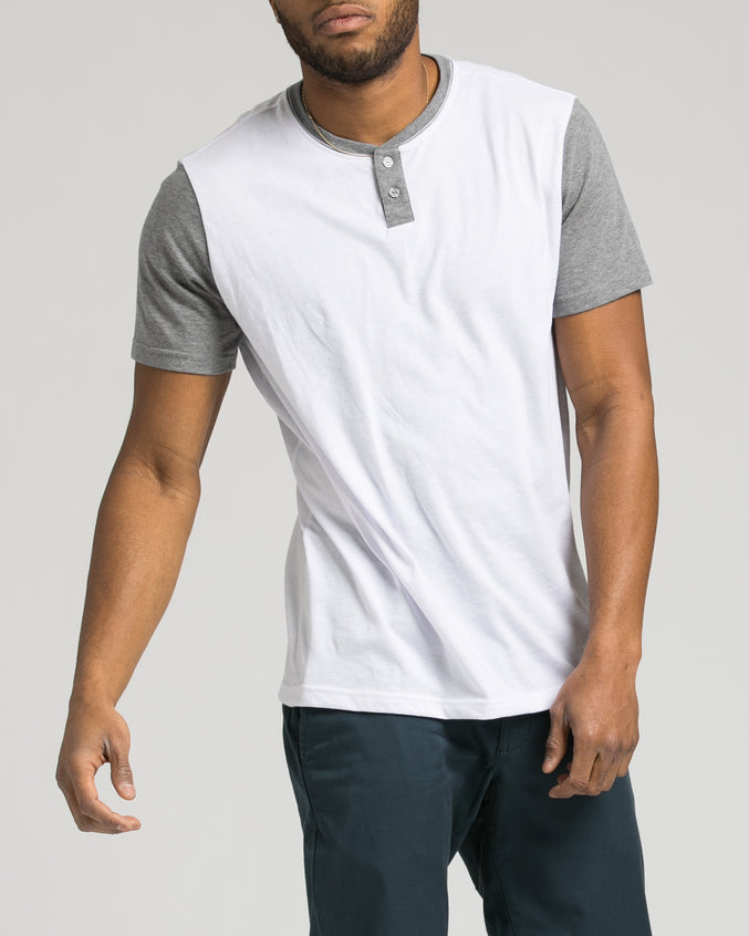 Pick Up Henley - Color: White | White