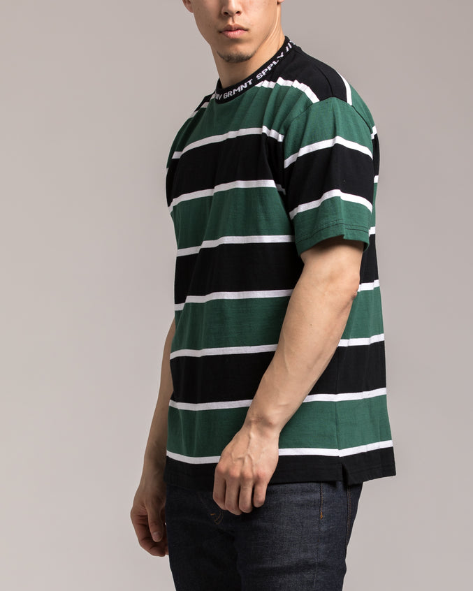24HR Striped Shirt - Color: Green | Green
