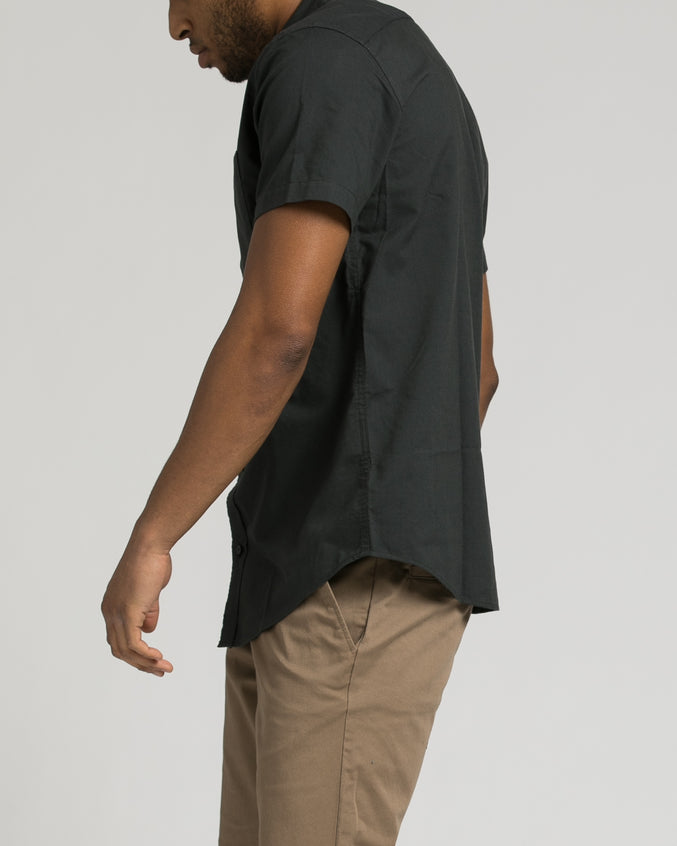 Thatll Do Short Sleeve Oxford Shirt - Color: Pirate Black | Black