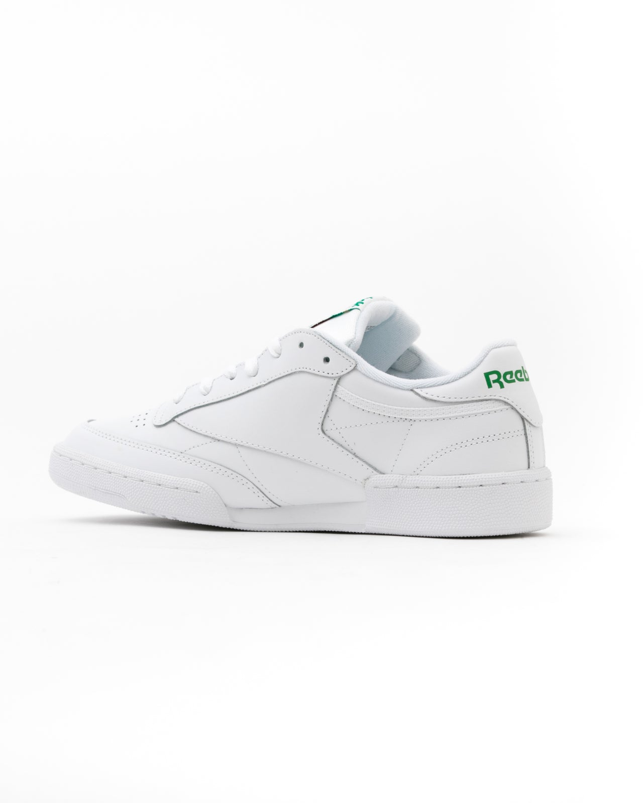 Club C 85 - Color: White/Green | White