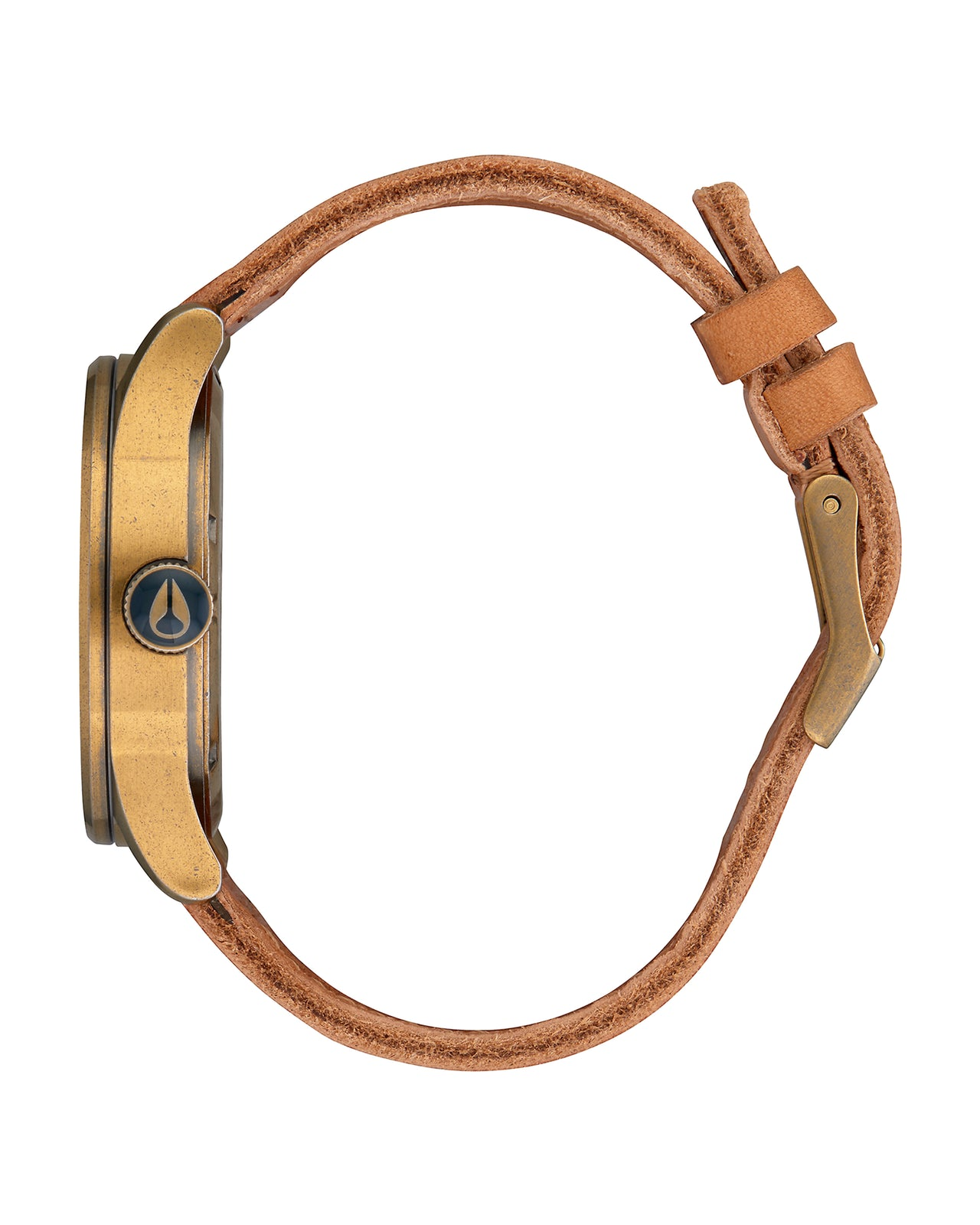 Sentry Leather - Color: Brass/Navy/Hickory | Brown