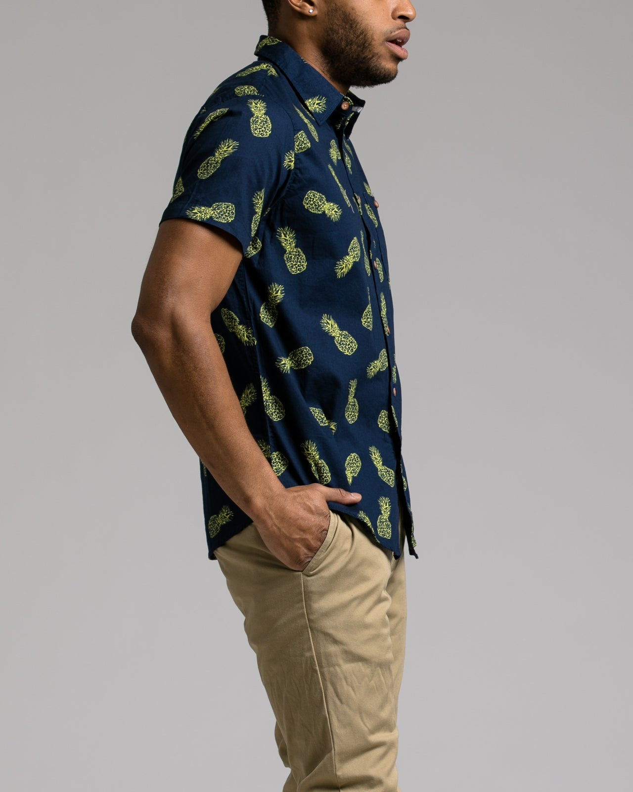 Anana SS Shirt - Color: Indigo | Blue