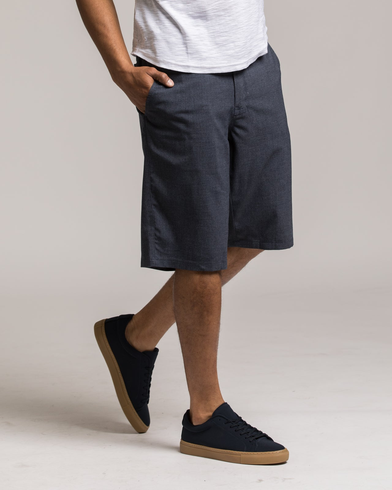 Windsor Short - Color: Indigo | Blue
