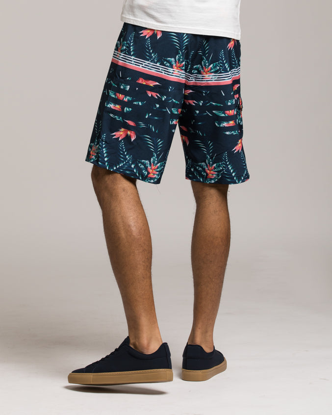 Splendor Board Short - Color: Navy |Multi