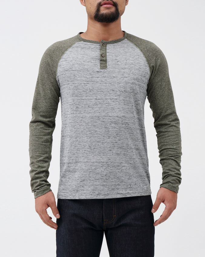 Driver LS Henley - Color: Gator | Green