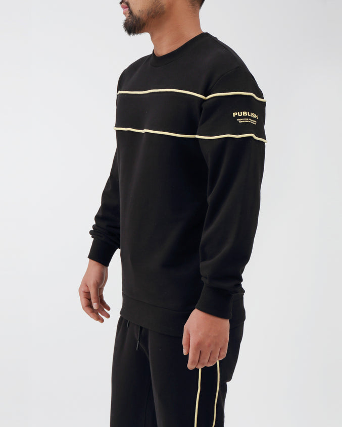 Jerome Sweatshirt - Color: Black | Black