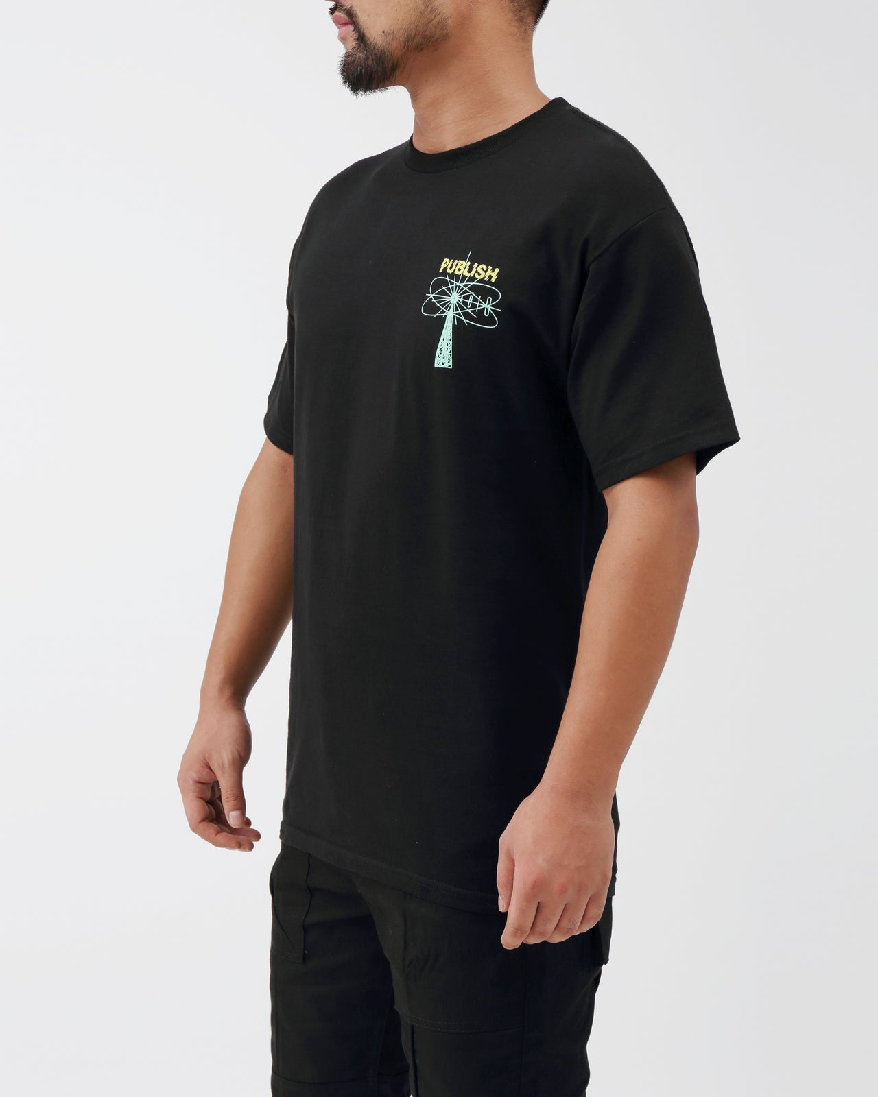 Shock Radio Tee - Color: Black | Black