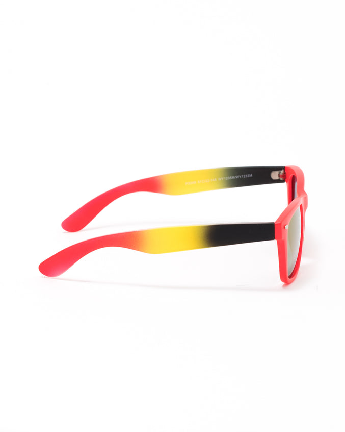 The 3249 Sunglasses - Color: Red | Red