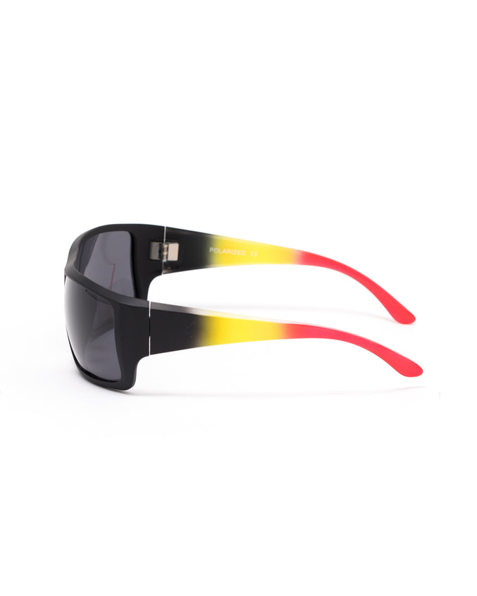 The 3558 Sunglasses - Color: Black Burst | Black