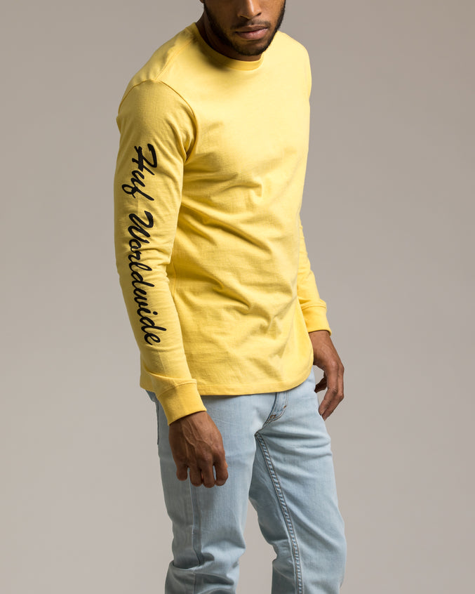 Felix San Tee - Color: Banana | Yellow