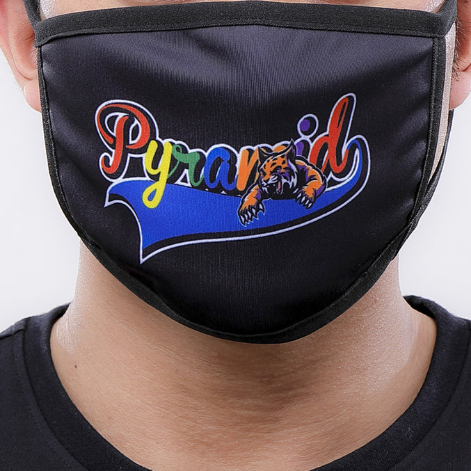 HUNGRY FACE MASK - Color: Black | Black