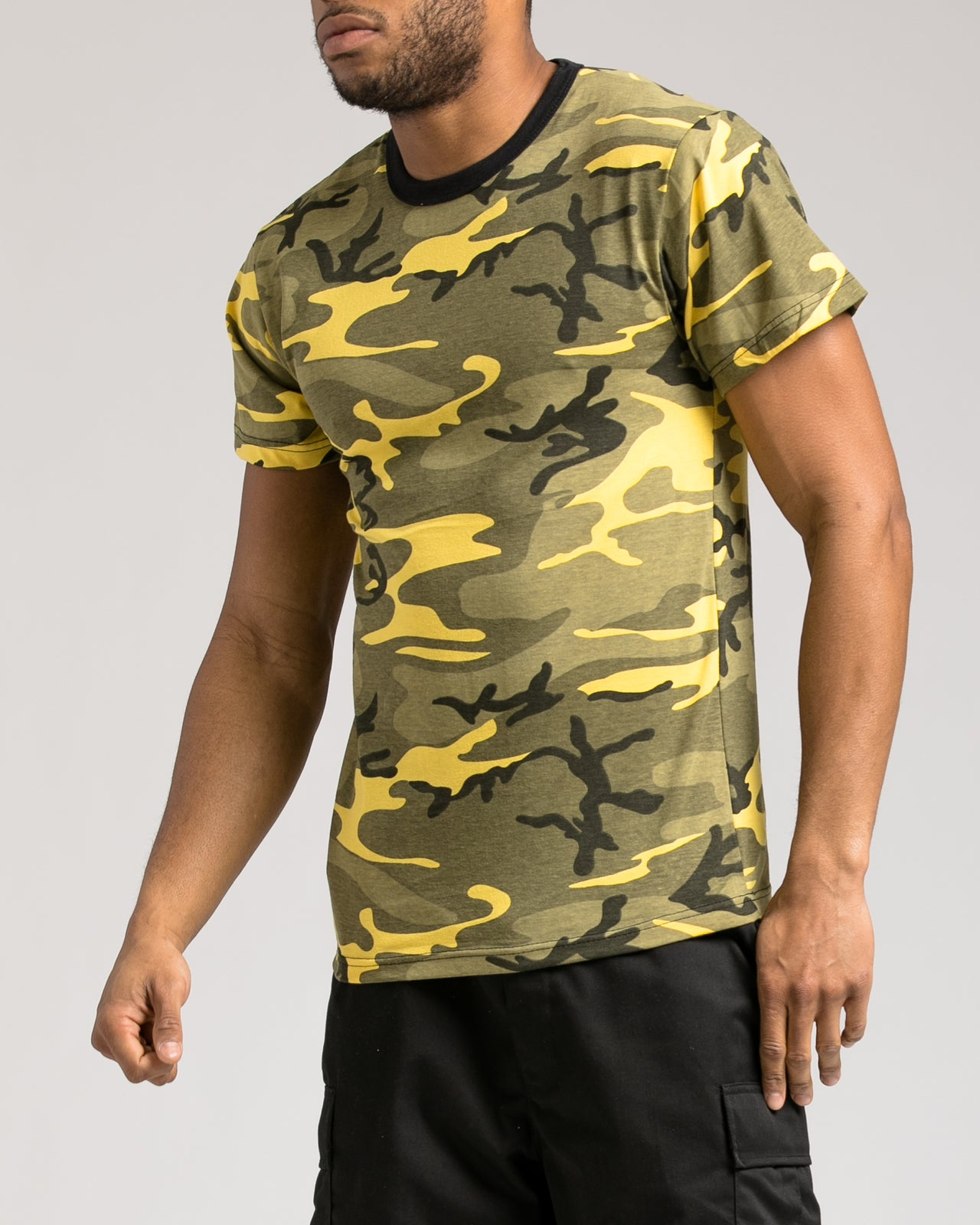 Camo Tee - Color: Yellow Camo | Yellow