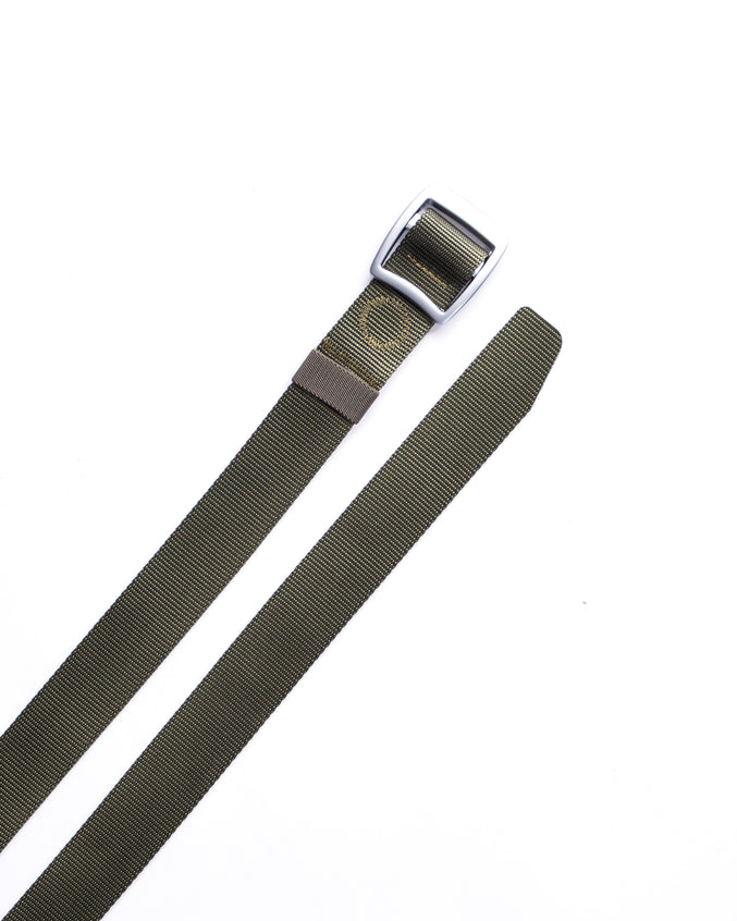Trek Buckle Belt - Color: Olive/Silver | Green