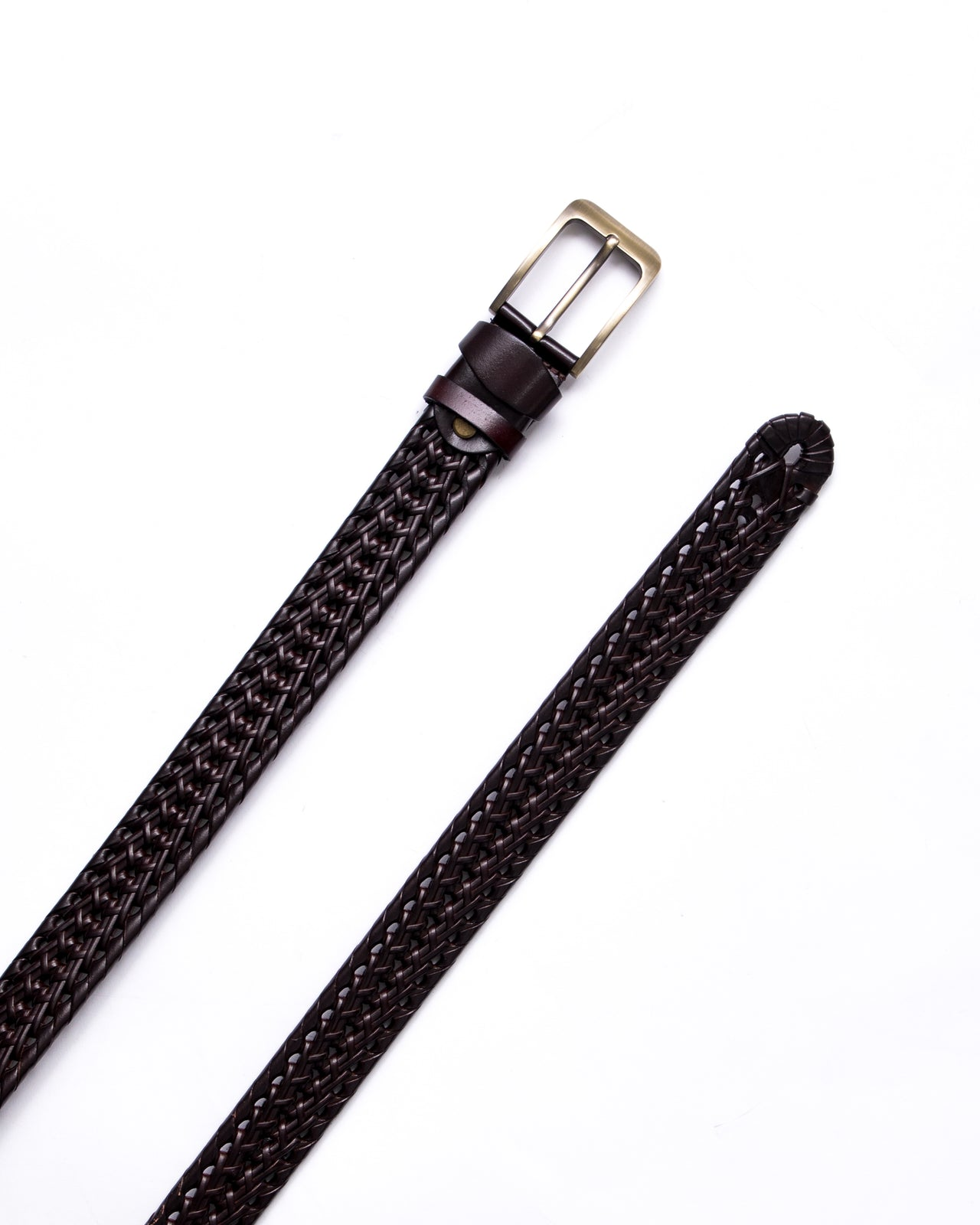 Split Leather Belt - Color: Brown | Brown