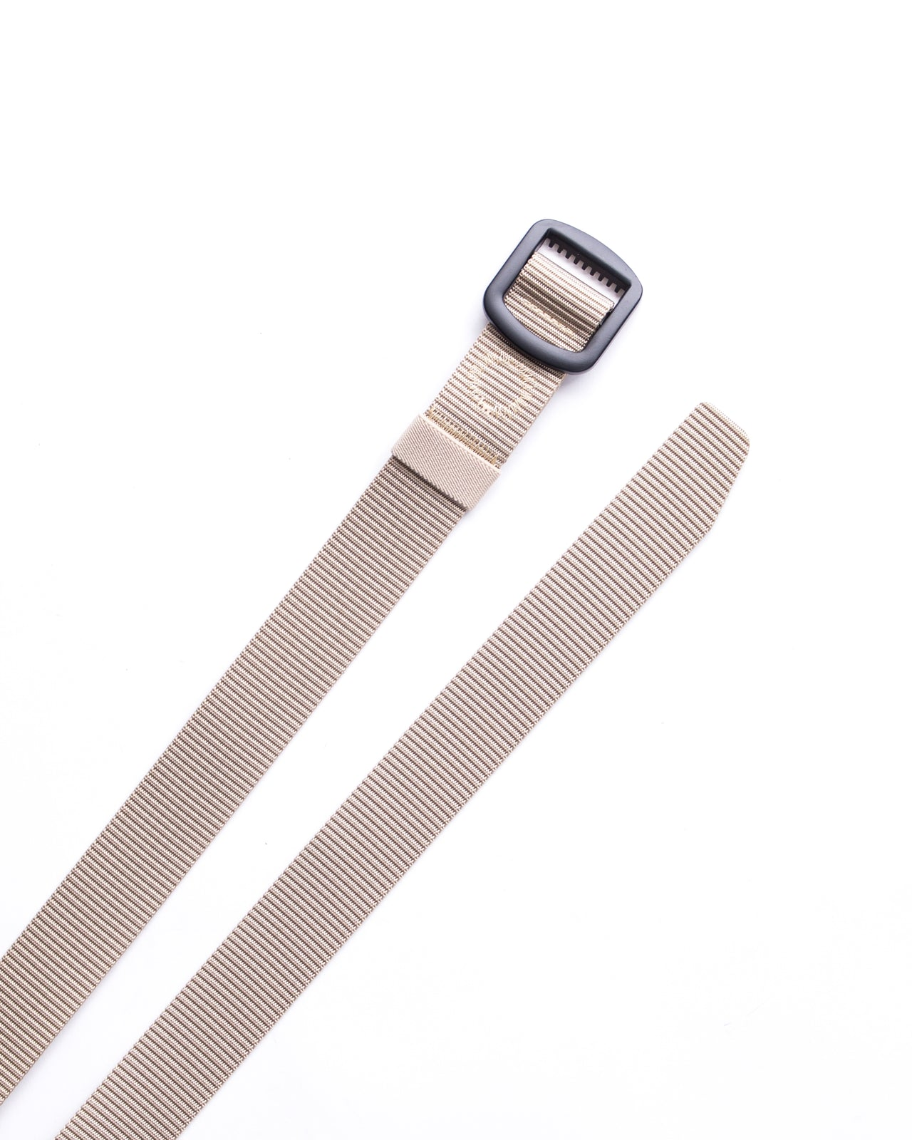 Trek Buckle Belt - Color: Khaki/Black | Beige