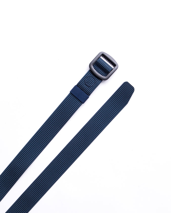 Trek Buckle Belt - Color: Navy/Black | Blue