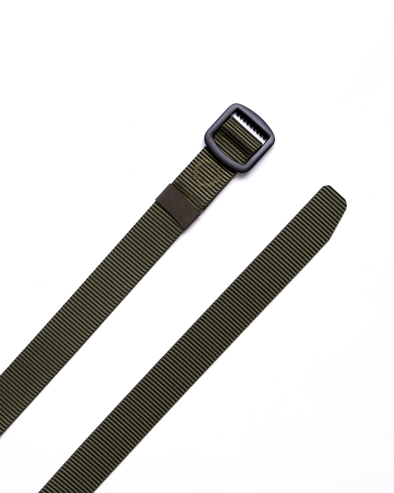 Trek Buckle Belt - Color: Olive/Black | Green