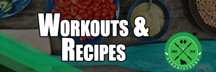 workouts and vegan recipes