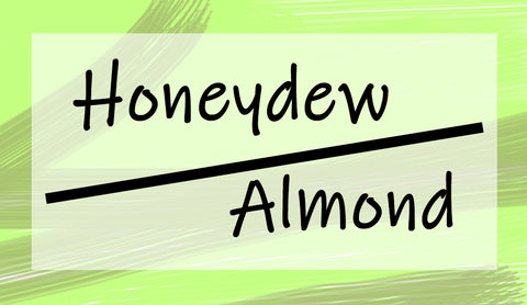 honeydew almond smoothie