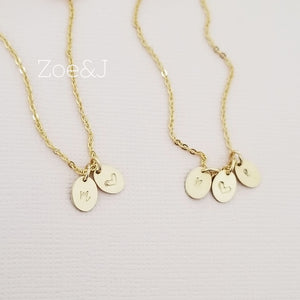 Petite Oval Coin Necklace