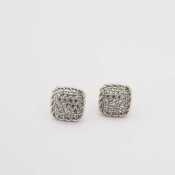 Square Cable Earrings