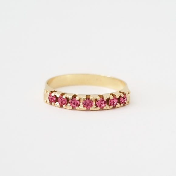 Pink Stackable Ring